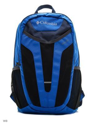 Рюкзак Columbia. Цвет: синий, темно-серый, красный