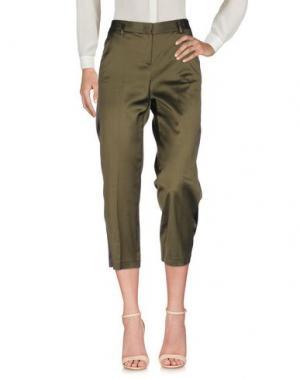 Повседневные брюки TONELLO. Цвет: зеленый-милитари