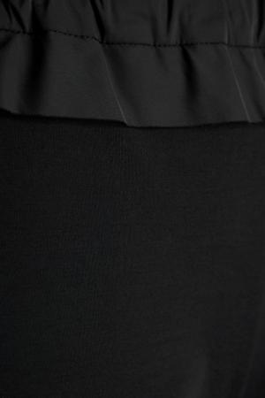 Брюки с сеткой IVKA. Цвет: черный