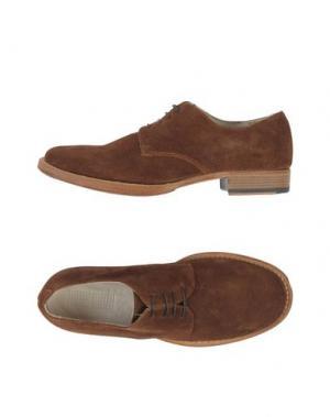 Обувь на шнурках 01000010 BY BOCCACCINI. Цвет: какао