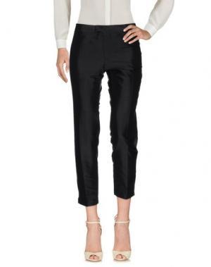 Повседневные брюки ADELE FADO QUEEN. Цвет: черный