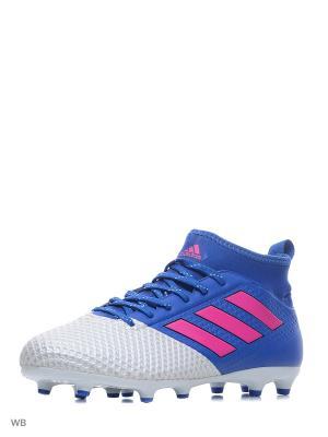 Футбольные бутсы (мяг.покр.) муж. ACE 17.3 PRIMEMESH Adidas. Цвет: синий