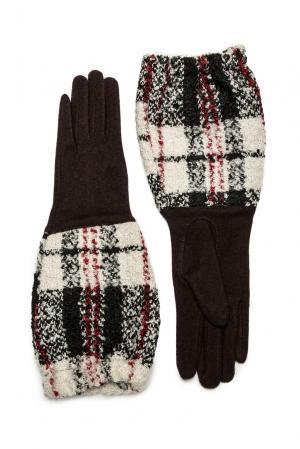 Перчатки из шерсти 173766 Moltini. Цвет: коричневый