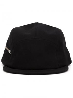 Бейсболка Five Panel Larose Paris. Цвет: чёрный