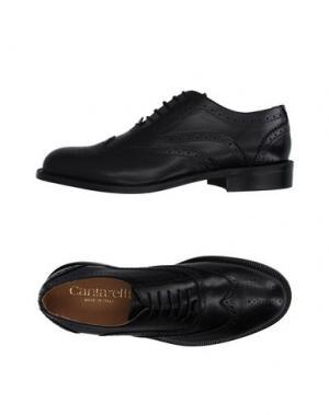 Обувь на шнурках CANTARELLI. Цвет: черный