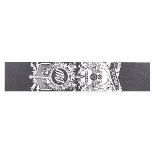 Шкурка для скейтборда  Cam Ward Signature Black District. Цвет: черный