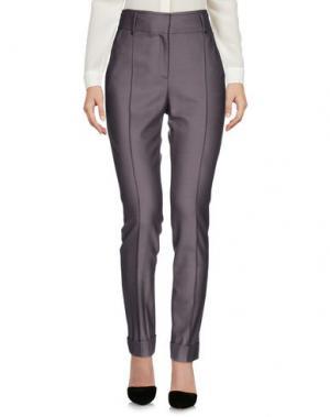 Повседневные брюки BELSTAFF. Цвет: голубиный серый