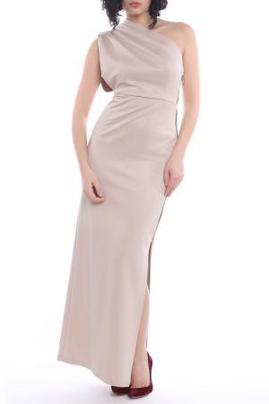 Платье Bellissima. Цвет: бежевый