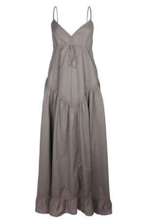 Платье Usha. Цвет: серый