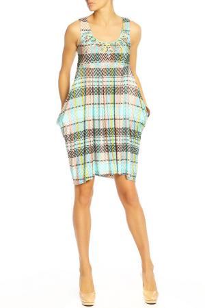 Платье Aftershock. Цвет: мультицвет