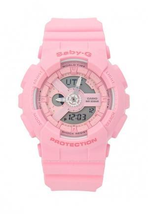 Часы Casio. Цвет: розовый