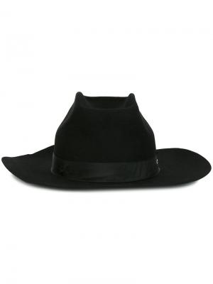 Широкополая шляпа Super Duper Hats. Цвет: чёрный