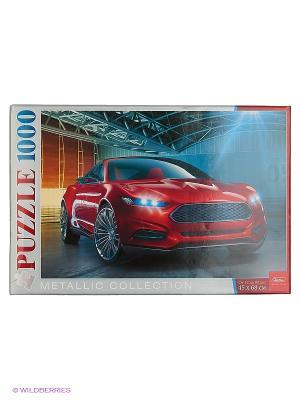 ПАЗЛЫ 1000 элементов  Металлик -Concept Auto- Издательство Хатбер-пресс. Цвет: белый