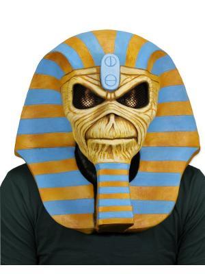 Карнавальная маска Neca. Цвет: лазурный, золотистый