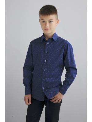 Рубашка Aster. Цвет: темно-синий