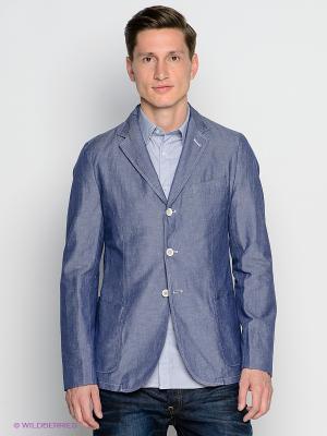 Пиджак GANT. Цвет: синий