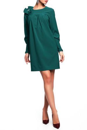 Платье Disetta. Цвет: зеленый