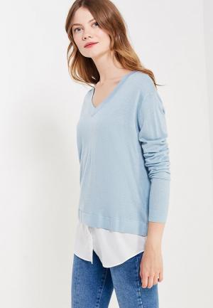 Пуловер Savage. Цвет: голубой