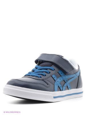 Спортивная обувь AARON PS ASICSTIGER. Цвет: черный, голубой