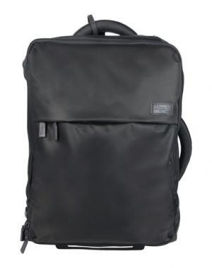 Чемодан/сумка на колесиках LIPAULT. Цвет: стальной серый