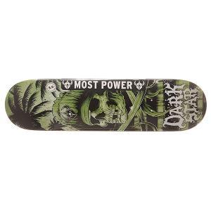 Дека для скейтборда  S6 Hyb Helm Army 31.6 x 8 (20.3 см) Darkstar. Цвет: мультиколор