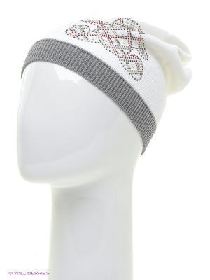 Шапка Totti. Цвет: белый, светло-серый