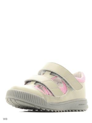 Туфли ортопедические ORTHOBOOM. Цвет: серый, розовый