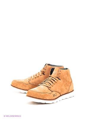 Ботинки K1X. Цвет: светло-коричневый, белый
