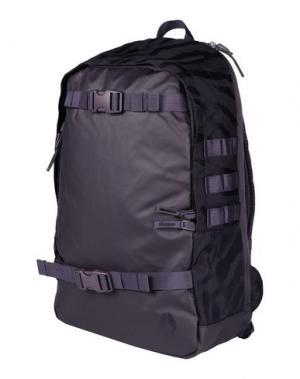 Рюкзаки и сумки на пояс NIXON. Цвет: темно-фиолетовый