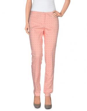 Повседневные брюки 19.70 NINETEEN SEVENTY. Цвет: лососево-розовый
