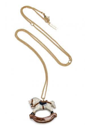 Колье 184780 Nach Jewellery. Цвет: разноцветный