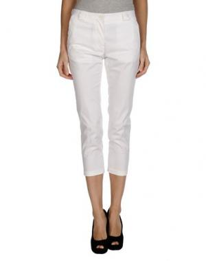 Повседневные брюки MAURO GRIFONI. Цвет: белый