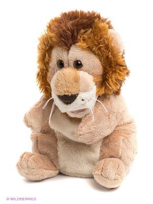 Мягкая игрушка на руку Лев TRUDI. Цвет: коричневый, бежевый