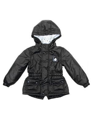 Демисезонная куртка babyAngel. Цвет: черный