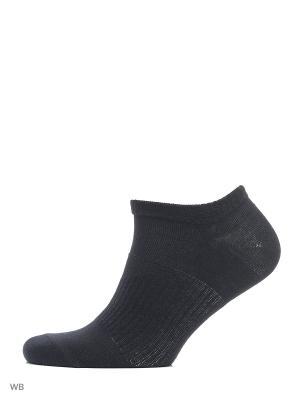 Носки, 5 пар Золотая игла. Цвет: черный, синий, темно-серый