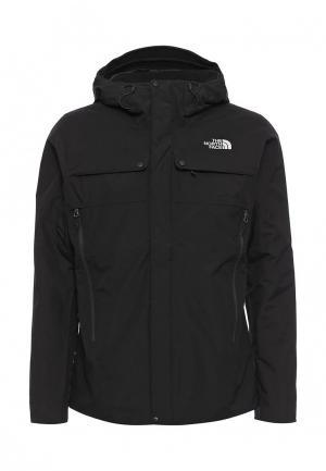 Куртка утепленная North Face. Цвет: черный