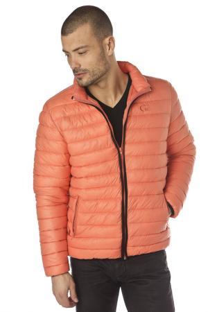 Куртка GAZOIL. Цвет: оранжевый
