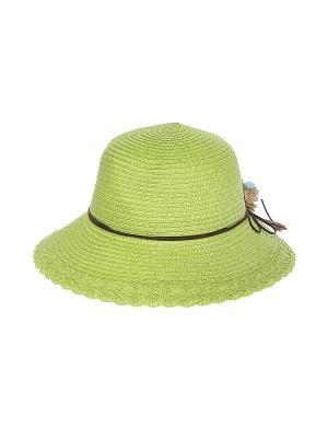 Шляпа Migura. Цвет: зеленый, коричневый