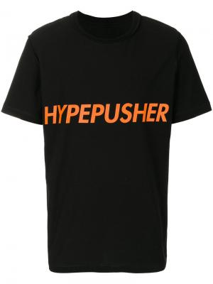 Футболка Hype Pusher Omc. Цвет: чёрный