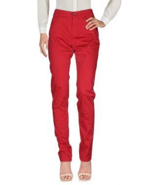 Повседневные брюки ARMANI JEANS. Цвет: пурпурный