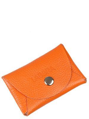 Визитница Labbra. Цвет: оранжевый