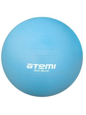 Мяч для фитнеса (антивзрыв) 65 см Atemi. Цвет: голубой