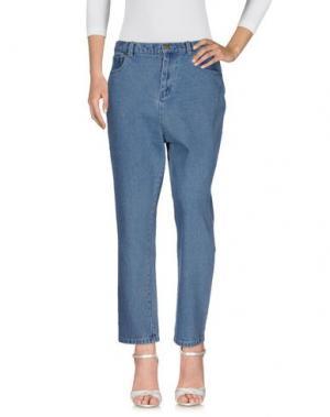 Джинсовые брюки THE FIFTH LABEL. Цвет: синий