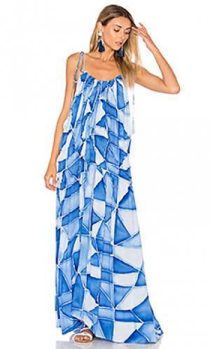 Платье bellmer Indah. Цвет: синий