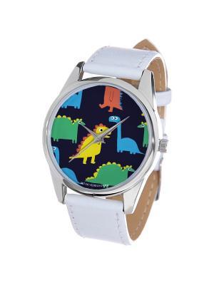 Часы Mitya Veselkov. Цвет: голубой, темно-синий, зеленый