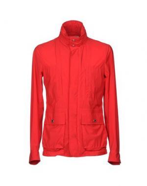 Куртка KIRED. Цвет: красный