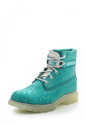 Ботинки Caterpillar. Цвет: бирюзовый