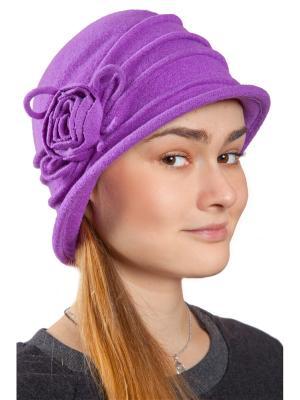 Шляпа Three S. Цвет: фиолетовый