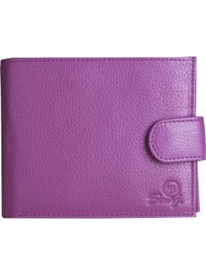 Портмоне SAAJ. Цвет: лиловый