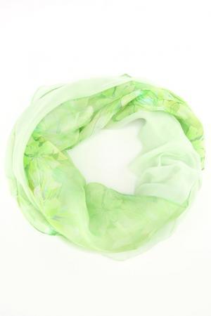 Палантин F.FRANTELLI. Цвет: зеленый